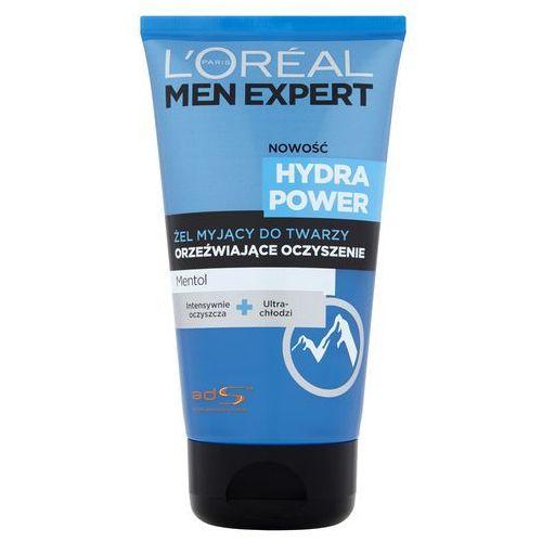 L'Oreal Paris Men Expert Hydra Power, 150 ml. Żel myjący do twarzy - L'oreal Paris (3600523110254)