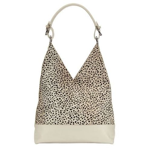 Phase Eight Animal Print Leather Tote, kolor beżowy