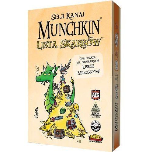 Black monk Munchkin lista skarbów