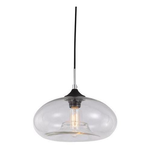 Skandynawska LAMPA wisząca VALIO MDM2093/1 C Italux szklana OPRAWA zwis szkło dymione, kolor Przydymiony