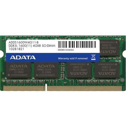 Pamięć do laptopa 8gb 1600mhz ddr3l cl11 (adds1600w8g11-r) darmowy odbiór w 20 miastach! marki Adata