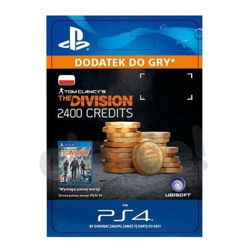 Tom clancys the division 2400 premium credits [kod aktywacyjny] marki Sony