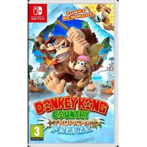 Gra switch donkey kong country freeze + zamów z dostawą jutro! marki Nintendo