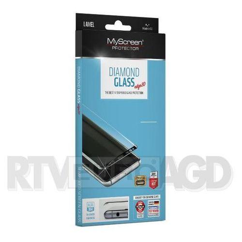 Myscreen Szkło hartowane diamond edge 3d glass iphone 7 plus / 8 plus czarne