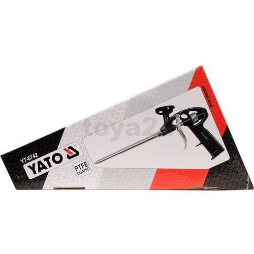 Pistolet do pianki montażowej Yato YT-6742 - ZYSKAJ RABAT 30 ZŁ, YT-6742