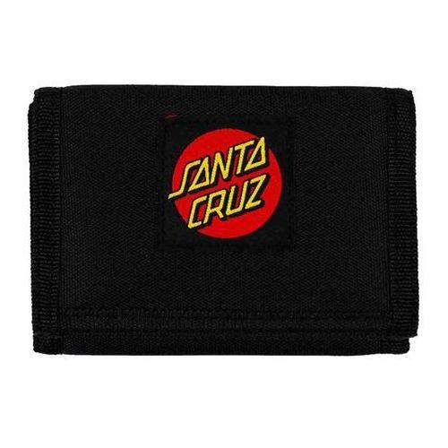 Portwel - classic dot canvas wallet black (black) marki Santa cruz