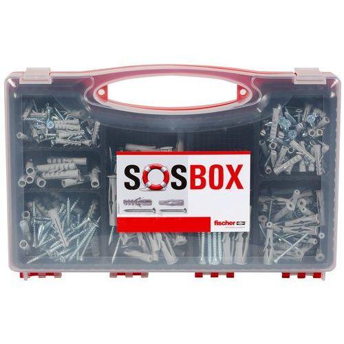 Fischer Zestaw kołków rozporowych s z wkrętem sos box (4048962224405)