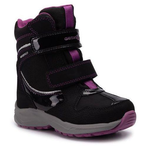 Śniegowce - j n. alaska g. b wpf a j948ba 050fu c9233 m black/violet marki Geox