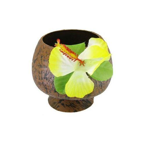 """Kubek plastikowy """"Kokos"""" z kwiatkiem (5905548918884)"""