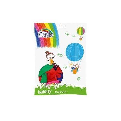 Balony pastelowe mix kolorów 100 sztuk (6913749996272)