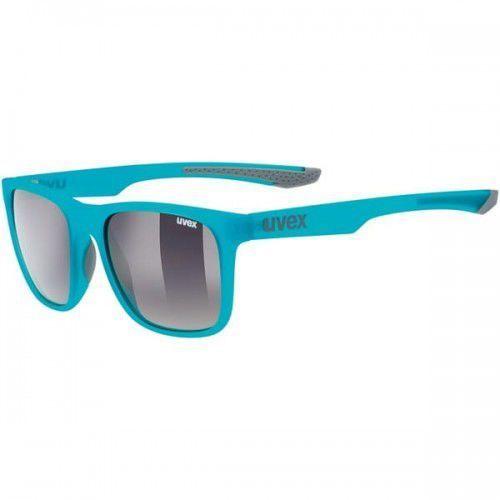 UVEX okulary lgl 42 (S3) blue grey mat (niebiesko szary mat) z szybą smoke ombre, 53/2/032/4516/UNI