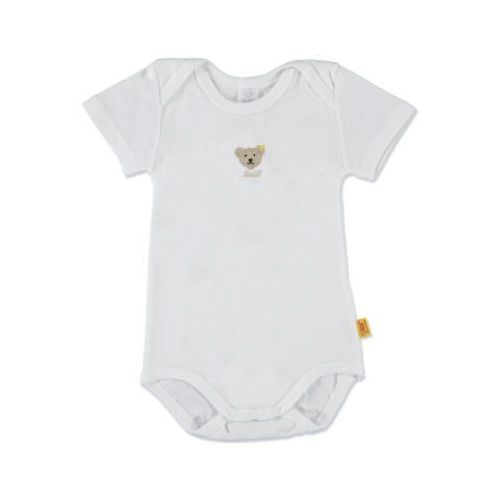 STEIFF Baby Body z rękawem 1/4 bright white (4048043661228)