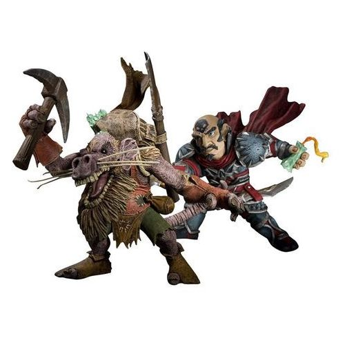 World of Warcraft Series 8 Action Figure Gnome Rogue vs Kobold Miner (DC0014), DC0014
