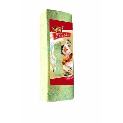 Vitapol trociny prasowane o zapachu kokosowym 1.1kg - darmowa dostawa od 95 zł! (5904479010445)