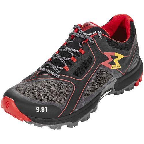 Garmont 9.81 fast buty mężczyźni szary/czerwony uk 8 | eu 42 2018 buty turystyczne
