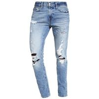 Abercrombie & Fitch Jeansy Slim fit light destroyed