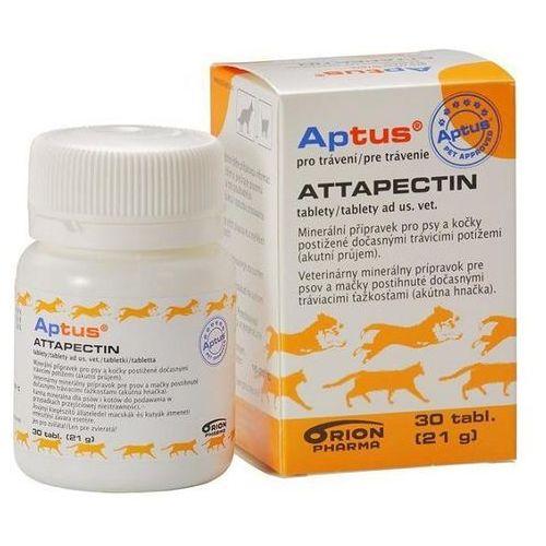 aptus attapectin tabletki przeciwbiegunkowe dla psów i kotów marki Orion pharma