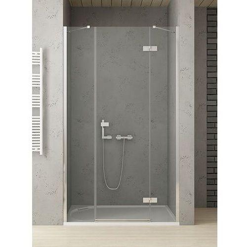 platinium drzwi wnękowe reflexa 170 prawe, wys. 200 cm, szkło czyste 6 mm exk-1213/exk-0004 marki New trendy