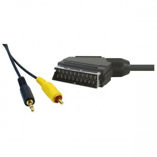 Kabel Audio/video Scart-Cinch + Jack(3,5mm), M/M, 5m, No Name Darmowy odbiór w 20 miastach! - produkt z kategorii- Kable video