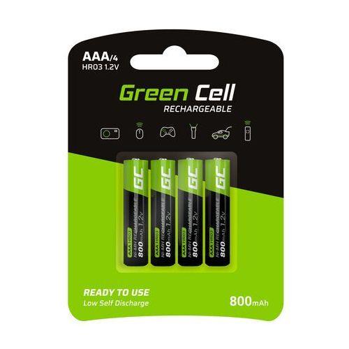 Green Cell Akumulator Green Cell 4x AAA HR03 800mAh, 9_47470