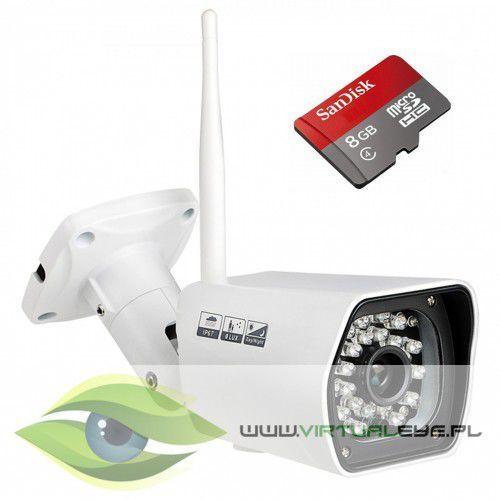 Virtualeye Kamera ip wifi fullhd 1080p + microsd 8gb