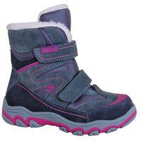 Protetika buty zimowe za kostkę dziewczęce donata 28 szary (8585003418202)