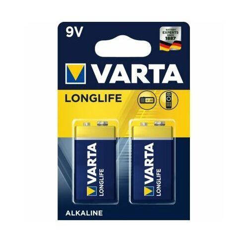 Bateria alkaliczna 9v longlife 2szt./bl. marki Varta