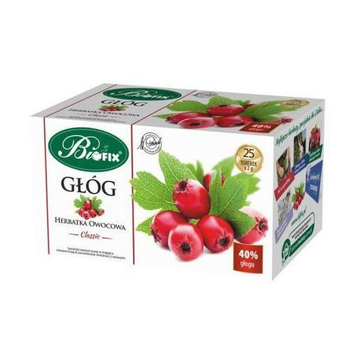 Herbata owocowa głóg Classic 50 g Bifix (5901483020507)