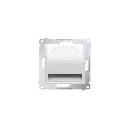 Oprawa oświetleniowa Simon 54 DOS.01/11 schodowa LED 230V biała Kontakt-Simon