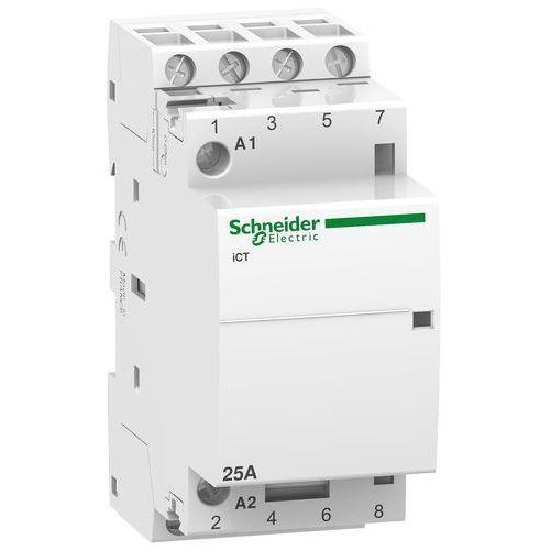 Stycznik modułowy iCT50-25/8,5-230/240V AC1 25A 4NO A9C20834 Schneider Electric, ICT 25A 4NO