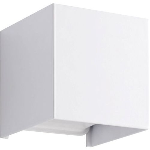 Inspire Kubbo - applique carrée led en métal h10cm-