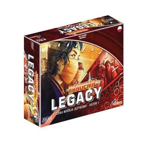 Pandemic legacy (pandemia) - sezon 1 (edycja czerwona) marki Lacerta