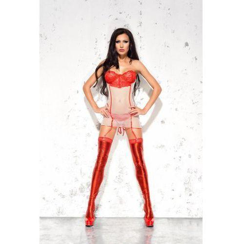 Me seduce  mila red gorset, kategoria: gorsety erotyczne