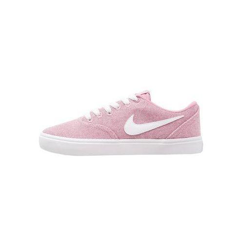 Nike SB CHECK SOLAR Tenisówki i Trampki elemental pink/white/black