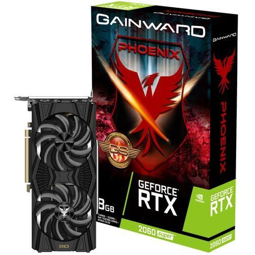 Karta VGA Gainward GeForce RTX 2060 Super Phoenix GS 8GB GDDR6 256bit HDMI+3xDP PCIe3.0 (4710562241099)