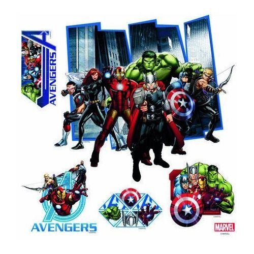 Naklejka dekoracyjna Avengers, 30 x 30 cm (8595577938051)