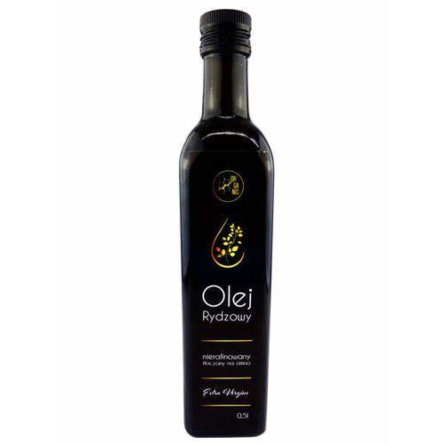 Olej Rydzowy Tłoczony Na Zimno Extra Vergine Szklane Opakowanie 500 ml