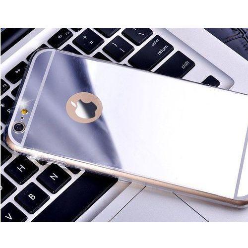case srebrny | etui dla apple iphone 6 plus / 6s plus - srebrny, marki Slim mirror