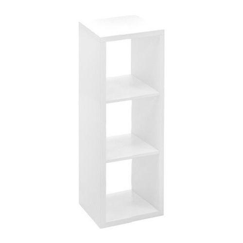 Regał Form Mixxit 3-komorowy 108 x 39 x 33 cm biały