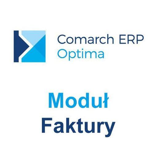 Comarch s.a. Comarch erp optima moduł faktury (2097970003467)