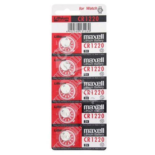 Maxell 5 x bateria litowa cr1220