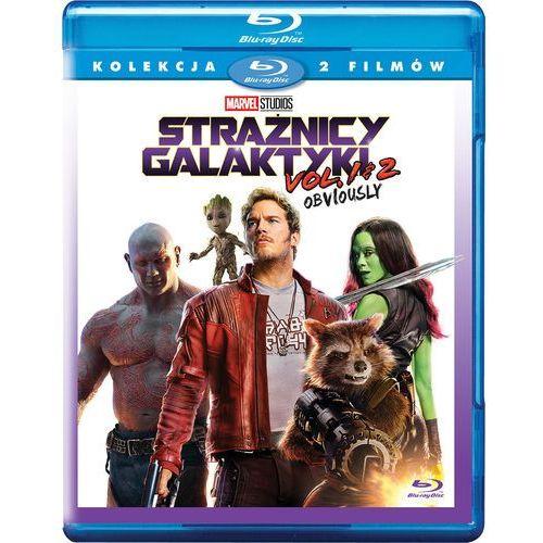 Strażnicy Galaktyki. Pakiet 2 filmów (Blu-ray) - James Gunn DARMOWA DOSTAWA KIOSK RUCHU
