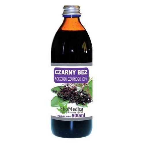 Ekamedica Sok z czarnego bzu 100% 500 ml (5902596671099)