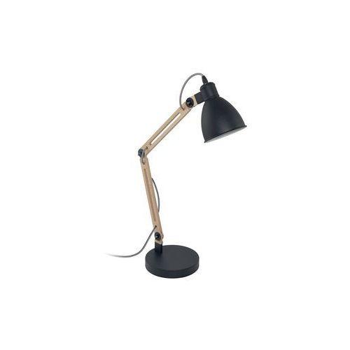 Eglo 96958 - Lampa stołowa ORONA 1 1xE14/60W/230V czarny