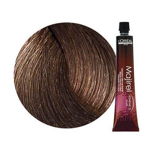 Loreal Majirel | Trwała farba do włosów - kolor 7.8 blond mokka - 50ml, kolor Loreal