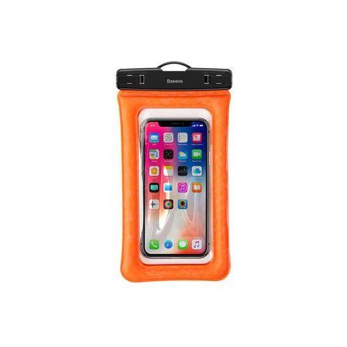 """Baseus etui uniwersalne wodoodporne ipx8 6"""" orange - pomarańczowy (6953156274525)"""