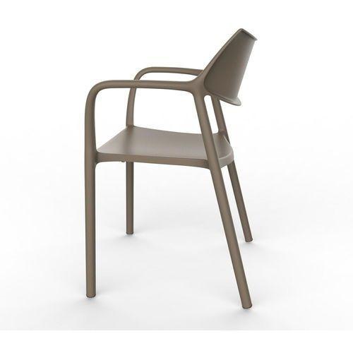 Krzesło Splash Aire czekoladowe, D2-8616