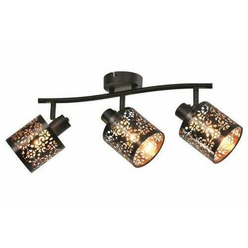 Reality kiga 830803-02 listwa plafon lampa sufitowa spot 3x40w e14 czarna