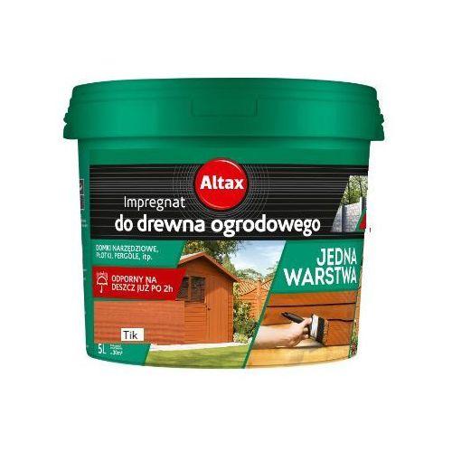 ALTAX- impregnat do drewna ogrodowego, tik, 5 l