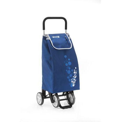 Altom Wózek na zakupy 30kg/56l. twin niebieski 4 kółka